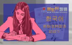 C12 新标准韩国语初级下册